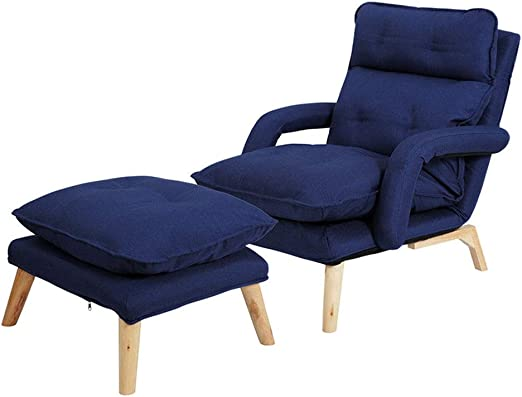 Amazon.com: Sofa Modern Relax Chair Recliner with Ottoman ...