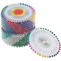 480 unids multi ronda perla cabeza costura alfileres