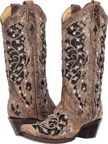 Corral Boots Women's A3569 Brown 5 B US