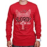 Jesus Lives Christian T Shirt | Christ Religious Gifts Savior Long Sleeve Tee