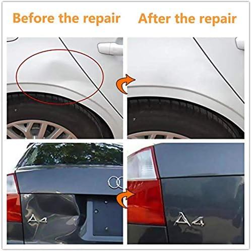 Paintless Auto Body Repair Tool Kit Black Bridge Dent Puller Glue Puller Tabs Glue Shovel for Auto Dent Removal Minor dents Door Dings and Hail Damage VTOLO Paintless Dent Puller