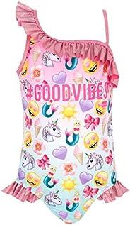 Emoji Girls Swimsuit
