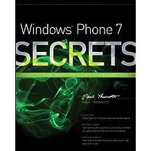 Windows Phone 7 Secrets by Paul Thurrott (23-Nov-2010) Paperback