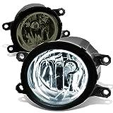 2007 toyota camry halo fog lights - Lexus / Toyota Pair of Bumper Halo Ring Fog Lights + CCFL Power Inverter (Smoked Lens)