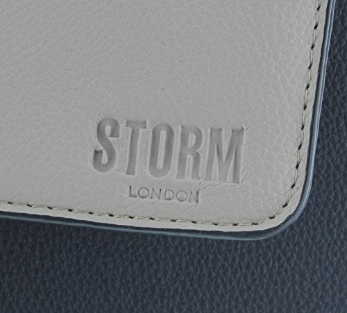 London STORM Taupe Black Handbag GRACIE YvYqwC7