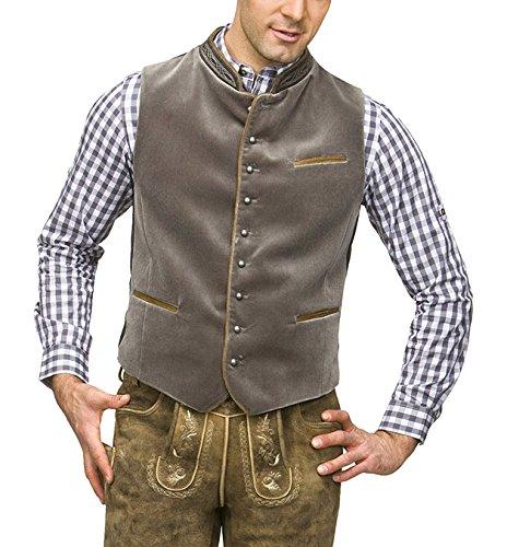 Weste Ricardo, Veste sans Manche Homme, Marron (Braun), Large (Taille Fabricant: 52)Stockerpoint