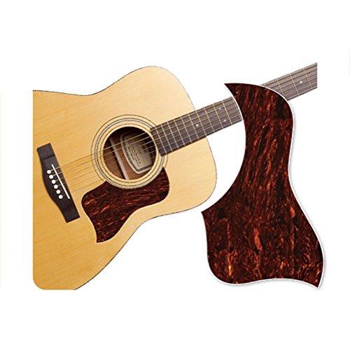 mexud shell pickguard style healing shield acoustic guitar tortoise marbling protector guitar. Black Bedroom Furniture Sets. Home Design Ideas