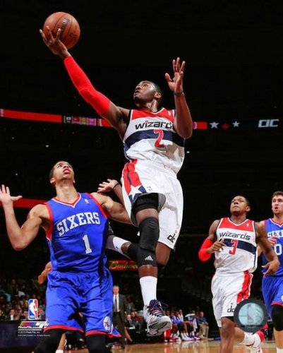 ジョン壁Washington Wizards 2013 – 2014 NBAアクション写真8 x 10   B00GK8XKTY