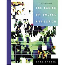 Livros earl r babbie na amazon the basics of social research with cd rom and infotrac fandeluxe Choice Image