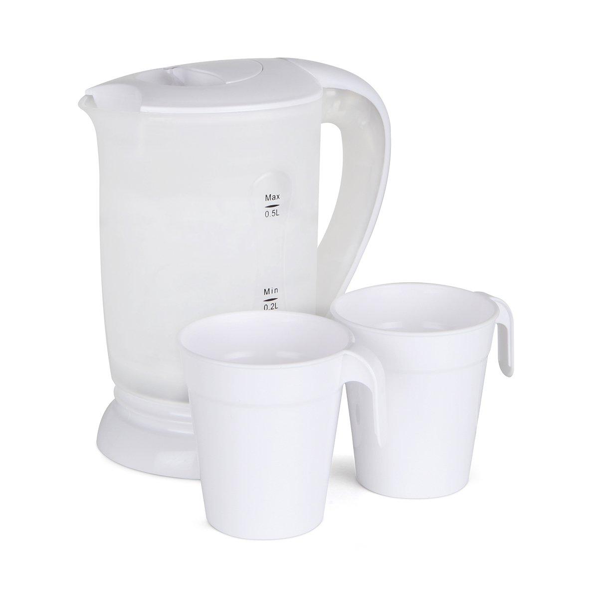 Orbegozo KT 4500 4500-Hervidor de Agua, 0,5 l, 700 W, 0.5 litros, Plástico, Color Blanco: Amazon.es: Hogar