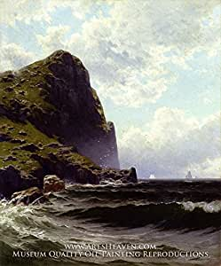 Amazon.com: Alfred T. Bricher, Brundith Head, Grand Manan