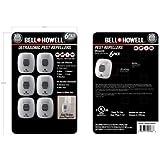 Bell and Howell Ultrasonic Pest Repeller 6 Value Pack
