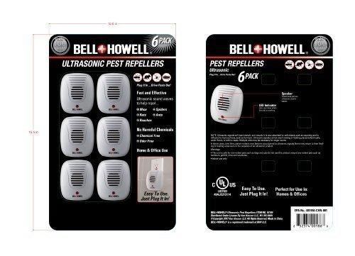 Bell Howell Ultrasonic Repeller Value
