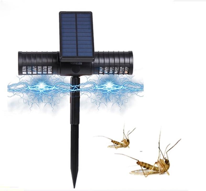 JCM Lámpara solar para matar mosquitos Mosquito al aire libre Casa eléctrica para mosquitos, jardín, hortalizas, insecticida agrícola zj
