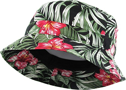 H-219-T06 Packable Outdoor Hiking Camping Fishing Bucket Hat - -