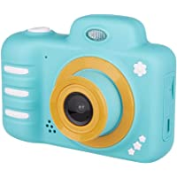 """Dolloress 18MP Kids Digital Camera Dual Lens with 2.4"""" HD Screen Selfie Camera Face Detection Anti Shake 32GB Maxium TF Card Supported 1080p Video Shooting Best Gift for Children"""