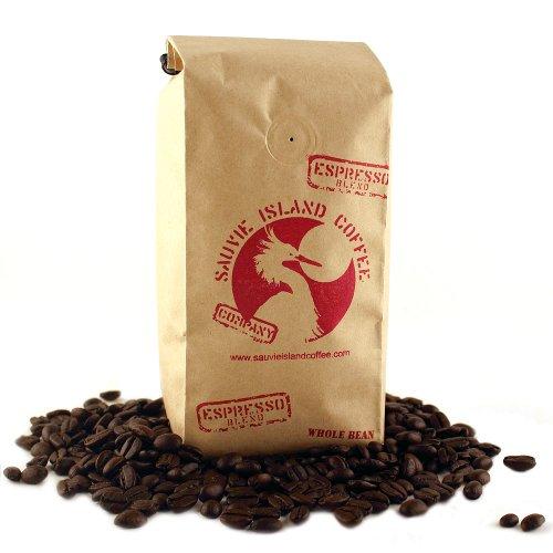 Espresso Nectar Coffee Beans by Sauvie Island Coffee: 2017 Golden Bean Silver Medal Winner   USDA Certified Carbon Neutral   Dark Roast Fair Trade Coffee   12 - Latin Nectar In