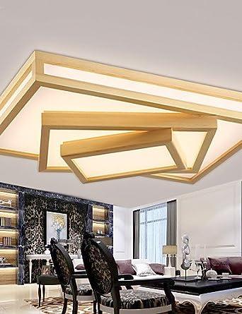 skt-lamps y chino iluminación rectangular salón lámpara de ...