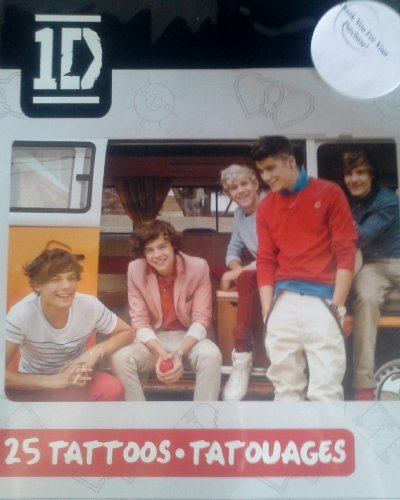 one direction temporary tattoos - 1