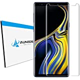 Screen Protector for Galaxy Note 9 [3D Curved], AUNEOS HD Clear Glass Protector for Samsung Galaxy Note 9 [Case Friendly] 3D Full Cover Premium Tempered Glass Protector for Samsung Note 9 (Clear)