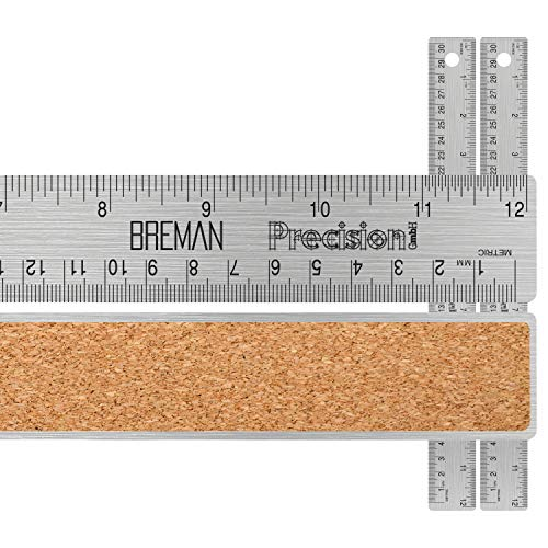 Engineering Woodworking - Flexible with Non Slip Cork Base 12 inch 2 PACK