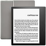 """Novo Kindle Oasis, tela de 7"""" sensível ao toque de alta resolução, à prova d'água, iluminação embutida, Wi-Fi"""