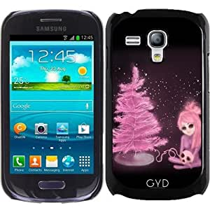 Funda para Samsung Galaxy S3 Mini (GT-I8190) - Intercosmic Navidad En Color De Rosa by Rouble Rust
