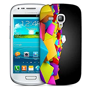 Diseñador Snoogg Teléfono protector de la cubierta del caso para Samsung Galaxy S3 Mini