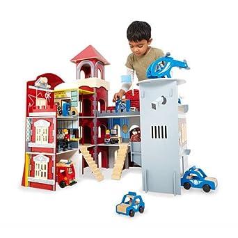 Imaginarium Police Station Fire House Combo