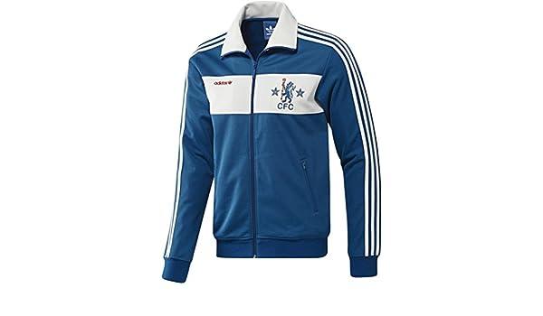 adidas Originals – Hombres De Chelsea CFC Chaqueta de chándal ...