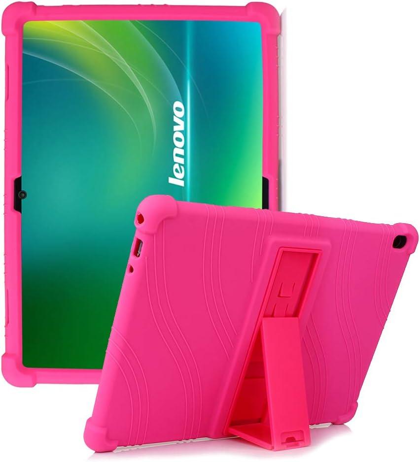 HminSen Lenovo Tab P10 Case, [Anti Slip] Protective Silicone Case for Lenovo Tab M10 (TB-X605F) /P10 (TB-X705F,TB-X705L) 10.1
