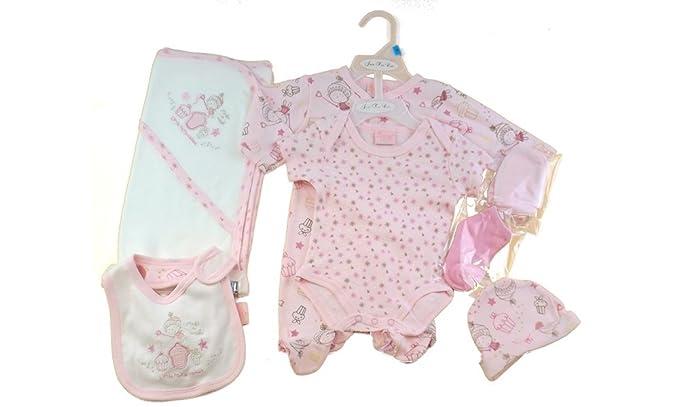 Just Too Cute - Pelele para dormir - para bebé niña rosa rosa Recién nacido: Amazon.es: Ropa y accesorios