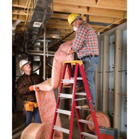 Louisville Ladder L-3016-06 6 ft. Type IA Duty Rating 300 lbs. Load Capacity Fiberglass Step Ladder