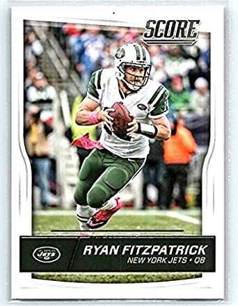 wholesale dealer dc895 eec1a Amazon.com: 2016 Score #219 Ryan Fitzpatrick NM-MT NY Jets ...