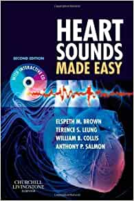Heart Sounds Made Easy with CD-ROM, 2e by Brown MB ChB FRCPCH, Elspeth
