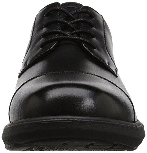 Nunn Bush Hombres Maretto Cap Toe Oxford, Tan, 9.5 M Us Negro