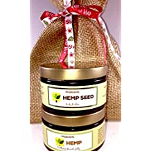 Hemp Oil Soothing Muscle Jelly for Muscular Pain Relief and Hemp Seed Body Butter GIFT SET