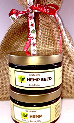Hemp-Oil-Soothing-Muscle-Jelly-for-Muscular-Pain-Relief-and-Hemp-Seed-Body-Butter-GIFT-SET