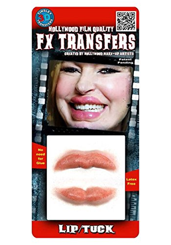 Tinsley Transfers  Lip Tuck, Flesh/Multi, One Size]()