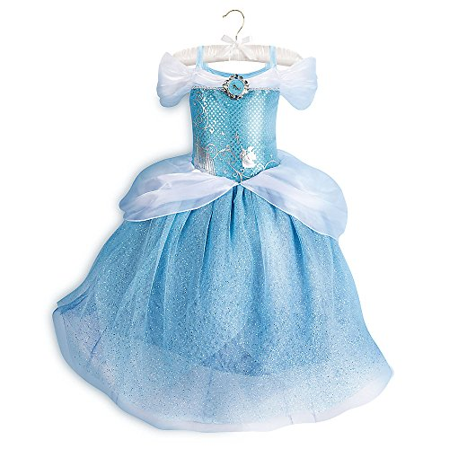 Disney Cinderella Costume for Kids Size 4 Blue 428415740029