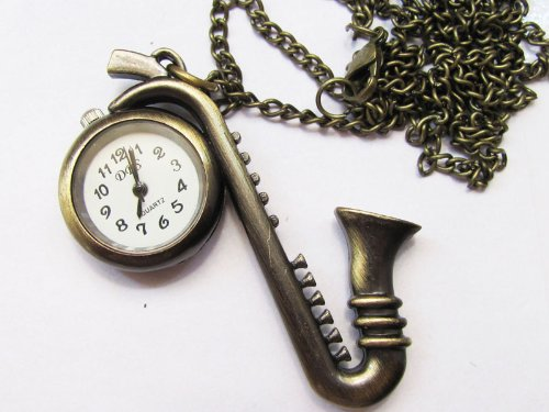 New Stainless Steel Case Antique Pocket Watch with Chain