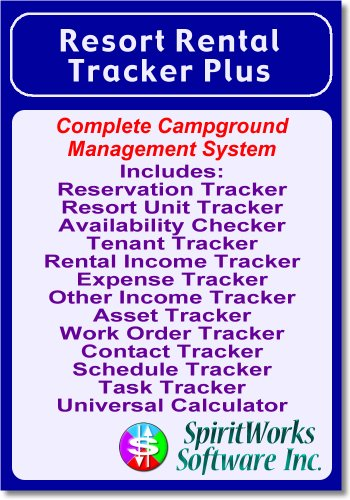Resort Rental Tracker Plus [Download] by SpiritWorks Software Inc.