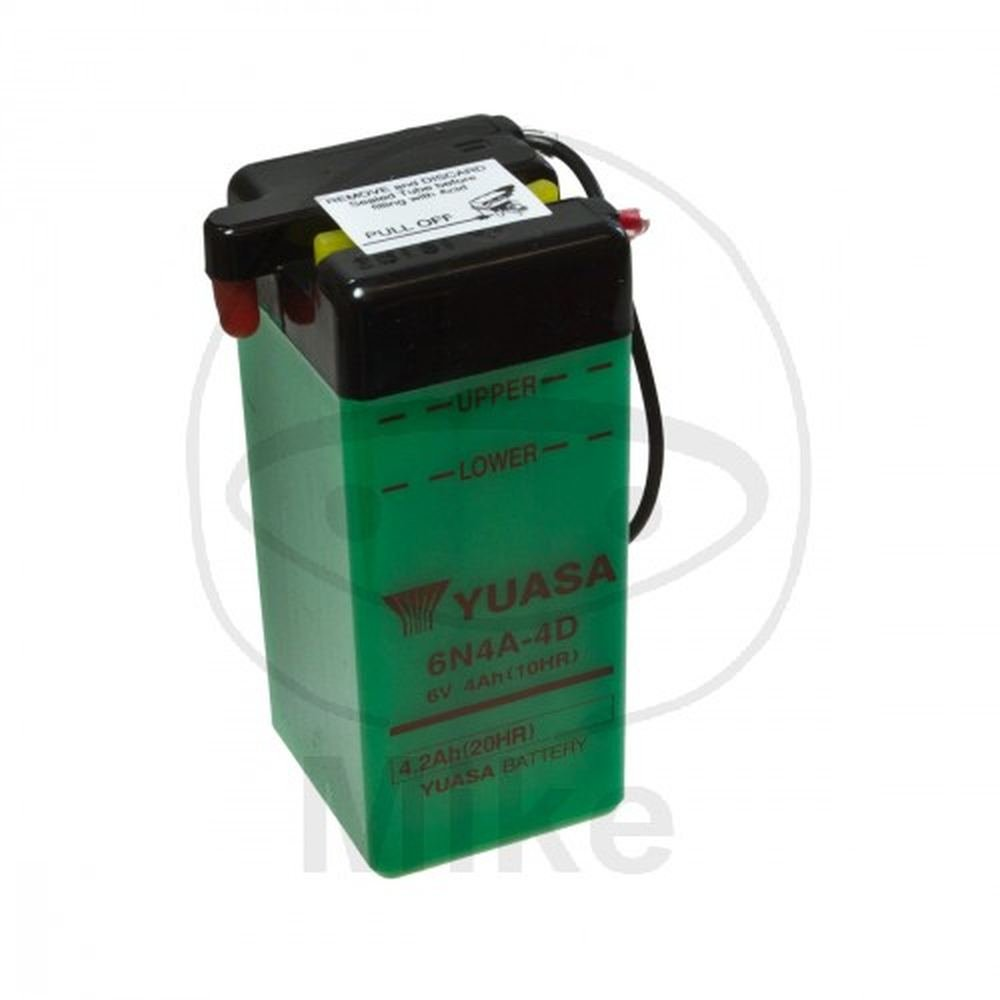 YUASA 6N4A-4D Batterie de Moto
