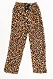 45500-10131-7-8 Just Love Plush Pajama Pants for Girls,Heart Leopard,Girls' 7-8