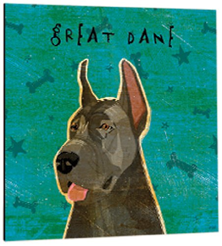 - Tree-Free Greetings 61030 Premium Square Eco Magnet, 3.5-Inch, Blue Great Dane