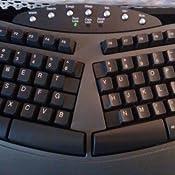 fellowes microban split design wired keyboard dark gray fel98915 electronics. Black Bedroom Furniture Sets. Home Design Ideas