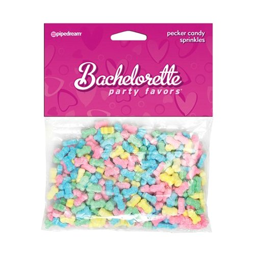 Pipedream Bachelorette Party Pecker Cake Sprinkles