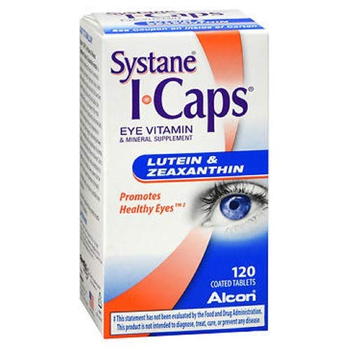 ICAPS Lutein & Zeaxanthin Tablets 120 Tablets (Pack of -