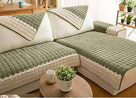 Buy Pinkdose Green Sofa Cover Customized Plaid Sofa Slipcovers
