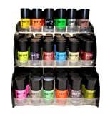 Matte Style 16 Piece Color Nail Lacquer Combo Set + 6 Sets...